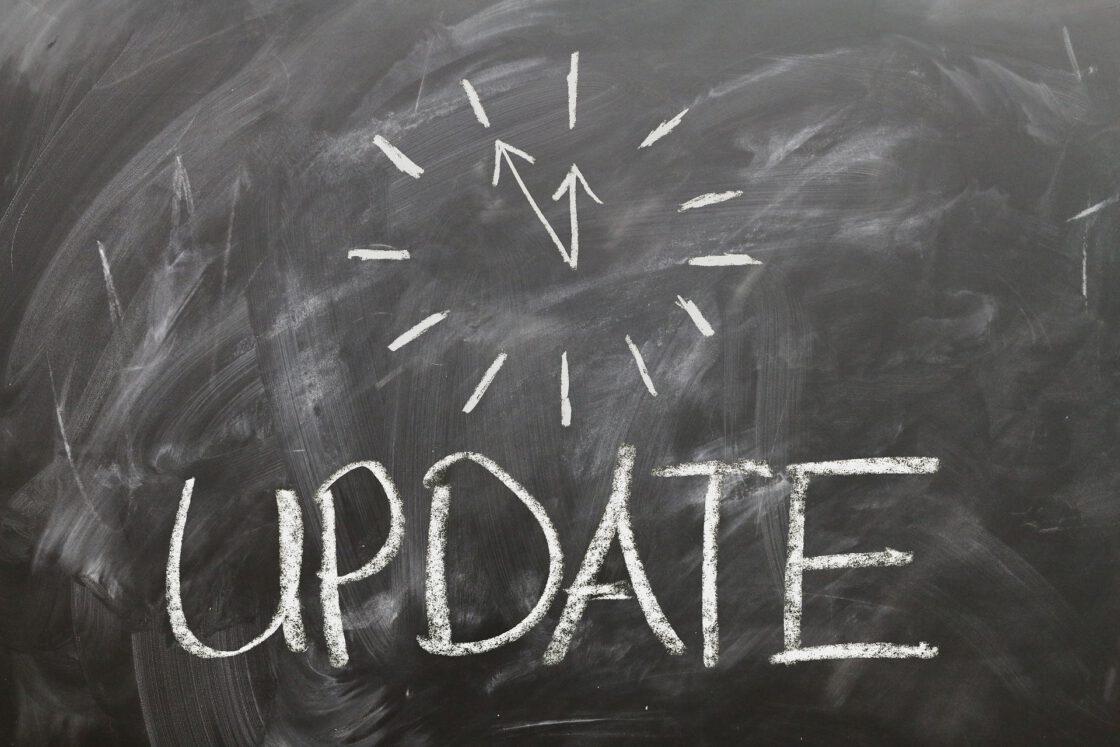 WordPress update vastgelopen
